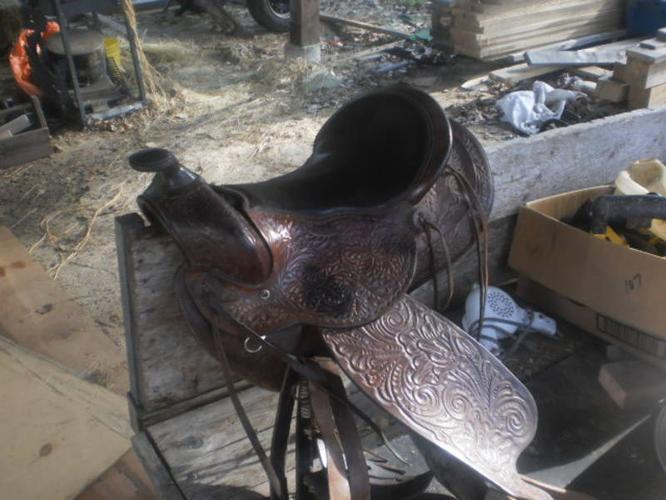 15 inch Saddle For sale