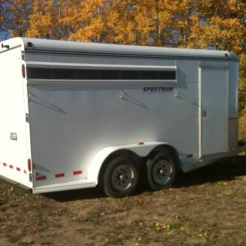2007 southland horse trailer