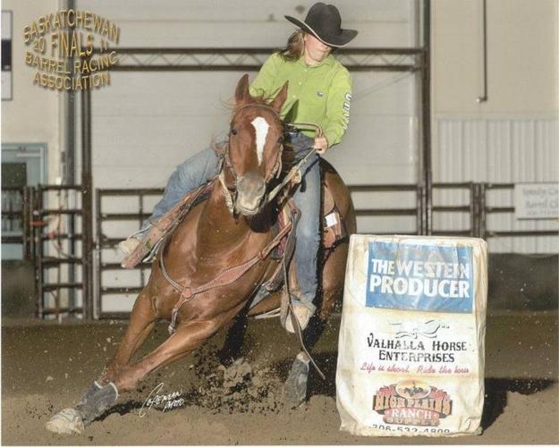 2D/1D/ High School Rodeo Barrel and Pole Horse