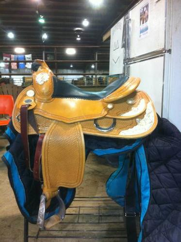 Continental Reining Saddle For Sale - Excellent Condition !!!