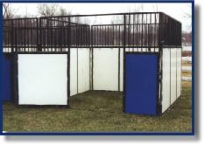 Portable/permanent show HORSE STALL, complete 10x10, save $900!