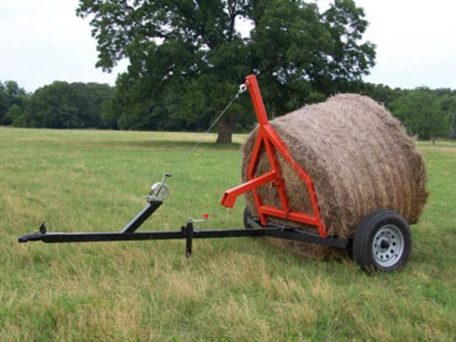 REDUCED! - Bale Mover - Move 1800 lb Round Bales w/Truck or Quad