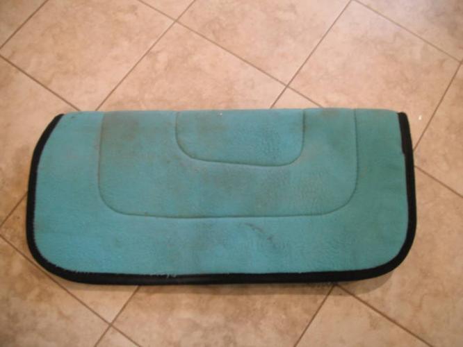Reversible Fleece Saddle Pad
