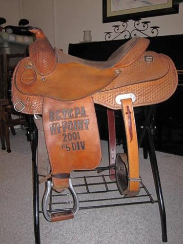 Silver Supreme Western Saddle