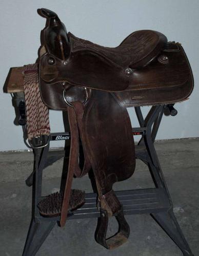 Western Saddle & Bridle