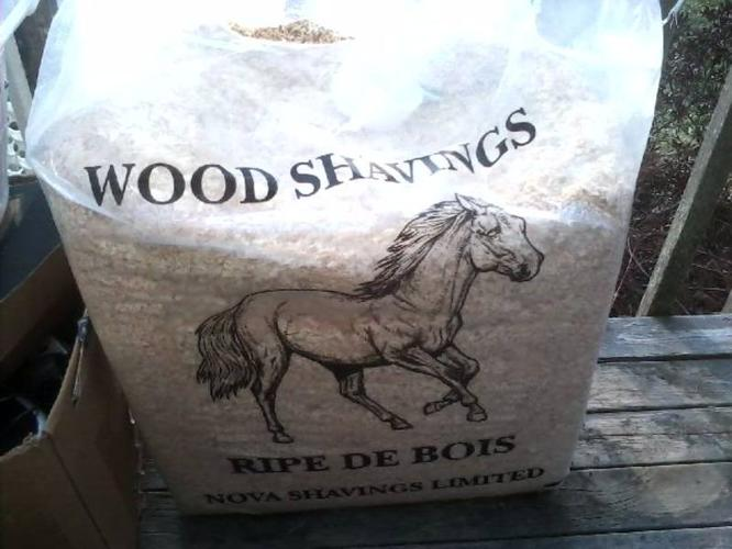 Wood Shavings for indoor pets. I used a little for my bird cage
