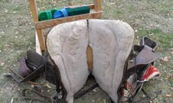 15.5 inch Western Rawhide Saddle asking $1000.00 or OBO For more info Phone Calls ONLY call (306) 874-2883 Located near Melfort sk