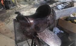 Hi I have a 15 inch western saddle for sale i am asking $200.00 O.B.O o r will trade for a bigger size saddle. If you are interrested give me a call Thanks