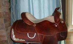 "For sale 15"" Silver Royal Saddle. This saddle is in great shape and super nice to ride in. Asking $800"