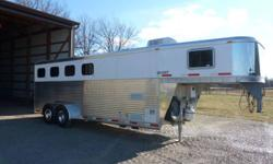 This trailer is truly the nicest 2006 trailer you will ever see, the aluminum is so shiny you will need your sun glasses on ! It is stored in doors year round and washed after every show, it's put away after the last show in october and not used during