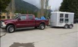 2011 Silver, Logan Rebel X,  2 Horse Angle Haul horse trailer. Near new, padded divider, roof vents, drop down windows, jail bar, plexi glass at butt side, tack room with bridle hooks, and blanket bar, and saddle rack, 35 gal. water tank, 3 exterior high