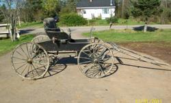 2 person buggy. In good shape. Price $1250.00. Phone (902)673-3348