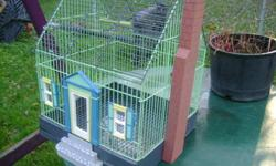 i am sellin a house bird cage it is in great condition please call do not email at 5199449638