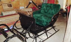 1909, antique sleigh, for sale $4500, or will trade for WELL TRAINED 8-10 year old RIDING horse.
