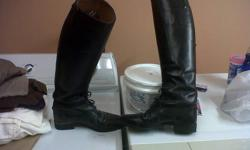 Ariat Challenge field boots. Size 9, calf medium tall. Excellent condition, only used for showing. Asking $100