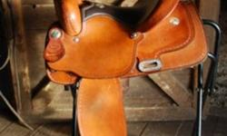 "Billy Cook 14"" youth western saddle for sale in fantastic condition. Priced to sell.  Would make an EXCELLENT CHRISTMAS GIFT!"