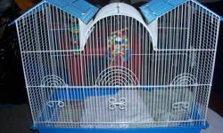 I am Selling This Bird Cage for $60.00 Excellent condition come with water bowl and hanging balls with bells in them, and a hanging toy that also has a bell with it if intrested please contact Joanne at 519-719-6127 or email me if u have anymore questions