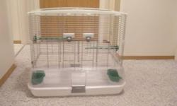 I have multiple cages and some birds for sale. Buy a cage and get 2 birds to go with it FREE!   Picture #1 - Vision Bird Cage. Still looks brand new. $60. - On hold  Picture #2 - This cage is still brand new. Was only used for 1 day to transport some