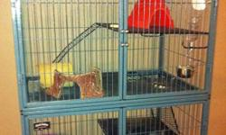 2 years old. Comes with cage, paid over 300 for cage. Email if you have questions or an offer. This ad was posted with the Kijiji Classifieds app.