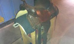 "Dark oil circle y trail saddle. Nice big saddle, 16"" seat. Comfortable seat and supple leather. Great condition, hardly used. New Liskeard area $1200.00 obo This ad was posted with the Kijiji Classifieds app."