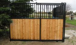 Ask about our other great products, such as hay feeders, bridle hooks, saddle racks and blanket bars! Diamond Horse Stalls Free standing stalls, set them up for temporary use in arenas or bolt them in for affordable, permanent stalls in your barn! No need
