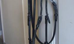 Brand new black english bridle, asking $100 OBO