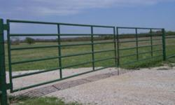 Heavy Duty Gates For Sale - Brand New Never Used   These are 6 Bar Heavy Duty Gates Made of all new 14 Gauge Steel Pipe.  They are very well constructed.    8FT - $145 10FT - $155 12FT - $180 14FT - $200 16FT - $210   5 Bar Pasture Gates Also Available.