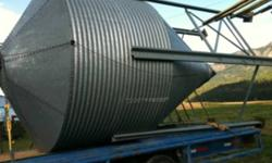 Four ring grain bin new bolts and only two rings are assembled but comes with the other two need to sell ASAP. Will deliver if not to far away.$2000 obo This ad was posted with the Kijiji Classifieds app.