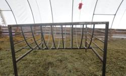 New hay feeder, cradle style. Excellent for sheep or for a larger number of horses. $450 obo