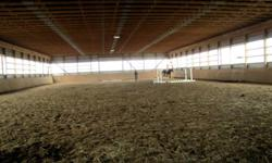 Equus Park is a beautiful facility located 20mins from Meaford, and 15mins outside of Markdale. West Barn - $250/month - 10x10 stalls, daily graining, turn out, and use of all the outdoor/indoor rings, wash stall... and all the facility has to offer. Main