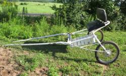 Was used with my 15.3 mare, but was borrowed and shown with a Haflinger.