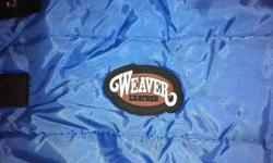 """**Blanket 76"""" weaver leather (blue)-- $100  (no rips or tears used for 3 months in winter about a dozen times needs a good wash) *Lunge Whip (black)-- $25  (never used) *Lunge Line (maroon and beige)-- $30 (never used) *Brush (pink)-- $15 (Lightly used)"""