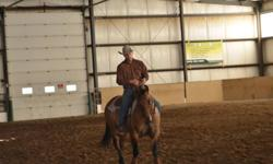 I have one spot open for the next few months for training. I offer reining and dealing with problem horses also colt starting. I usually do about 60% arena work and 40% trail and exposing your horse to new things ropes, plastic bags... My rate is based on