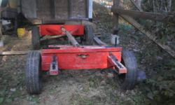 Hi i have a double horse wagen for sale it is like new but it needs a pole . i am asking $500.00 O.B.O thanks...