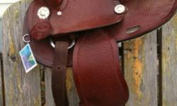 We have a kids saddle 13inch never been used for sale. It's from double T saddlry. It would be a good Christmas present. 350.00 please call 1-306-979-8294 or 1-306-261-8294. Ask for Clayton This ad was posted with the Kijiji Classifieds app.