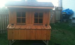 Very large chicken coop/rabbit hutch, bought a month ago at the 400 flea market for $1200 . No longer needed.. Best offer please, or if you have something to offer in trade thats in the around the same price range, would consider. . Plus you would need to