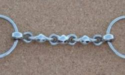 """Hi, I am looking for a 5"""" loose ring Waterford bit and a dark brown breast plate with running martingale attachment. Both should be in very good shape and available for me to pick up in the London area.   If you have either can you respond with price."""