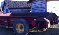 New Holland 512 Manure Spreader in good working condition. $1800 780-922-5566 This ad was posted with the Kijiji Classifieds app.