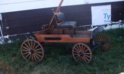 ASKING $2400 FOR THIS BEAUTIFUL MINATURE HORSE BUGGY, HAS NEVER BEEN HOOKED UP HAS ALL BEEN REDONE 4 BRAND NEW SPOKED WHEELS.  WILL CONSIDER TRADE FOR SHEEP