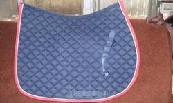 """Good condition used """"Shedrow"""" cotton saddle pad. Check out my other items."""