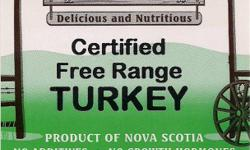 CERTIFIED FREE RANGE TURKEY AND CHICKEN FOR SALE. Mayflower farm has been growing Free Range Turkey and Chicken for over a decade. All of our Poultry is Provincially certified Free Range and is slaughtered at a Provincially inspected meat processing