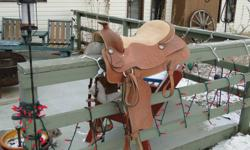 "16"" Pleasure Saddle Like New. Used twice 500.00 Firm. call Les (306)683-0206 or 291-9563"