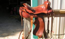 Pony Size WESTERN SADDLE. Complete with cinch Excellent condition!   $250.00   Call 467 8661; or 383 5317