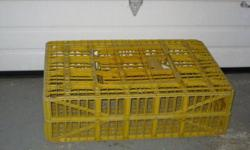 Poulet crates 35''x23''x10''  for 10.00 each