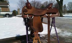 Textan Cutting Saddle 17'' seat 5 years old $1100.00 __________________________ Silver Supreme Roughout Training Saddle 17'' Seat 1 year old, lightly used. 1000.00 neg. (+HST)
