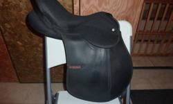 "15"" sigma all purpose saddle. Includes girth (48"") Reason for selling is its to small for my horse."