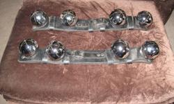 I have a matching Set of Horse Sleigh Bells for sale, they have never been on the Horses, these are heavy Top Quality Leather Straps and are well made, selling new for over $80ea. plus Tax, asking $120 for the Set, also have one Bell strap (7' long) that