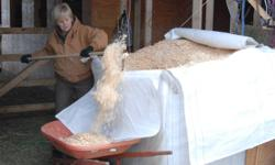 BULK SHAVINGS 350CU. FT. PER BALE EXPANDED ALL SUPER COMPRESSED INTO 4FT X 4FT CUBE ITS LIKE 40 SMALL BALES IN ONE CUBE . ALL SHAVINGS ARE SCREENED AND SUPER FLUFFY ONLY $170. PER CUBE ! WE ALSO SELL SPRUCE MOUNTAIN SMALL BALES . GREAT FOR STABLES ,