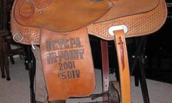 """15 1/2 """" seat, full q/h bars, 7"""" gullet, reiner/penner, great shape! Denise @ 604 809-1102"""
