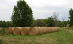 Straw Bales (Barley) for Sale . Large number (112) of  new, clean, barley straw in 4' x 5' round bales; weight per unit is 500 lbs. . Harvested in Aug. 2011; . Located near Beaver Valley (Eugenia/ Kimberley area); . Best offer per bale or total number of